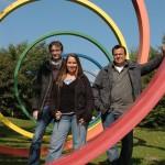 Marc, Sarah und Gavin Steinwachs, studidoo