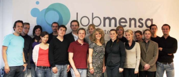 Das Team von Jobmensa