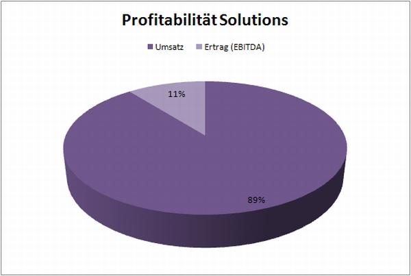 StepStone Profitabilität Geschäftsbereich Solutions 2008