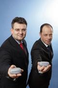 StepStoners: Wolfgang Bruhn (links) und Frank Hensgens (rechts)