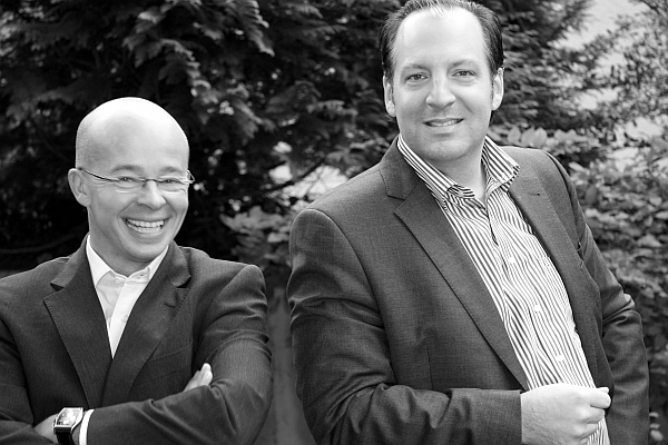 Dirk Tekath (links) und Mark Brenner