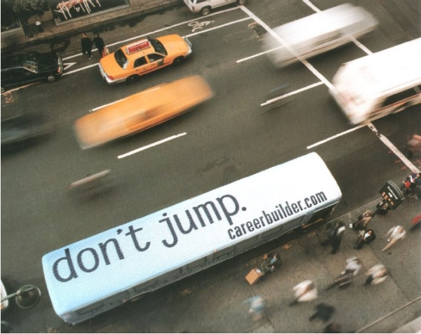 Karrieretip von CareerBuilder: Don't Jump!