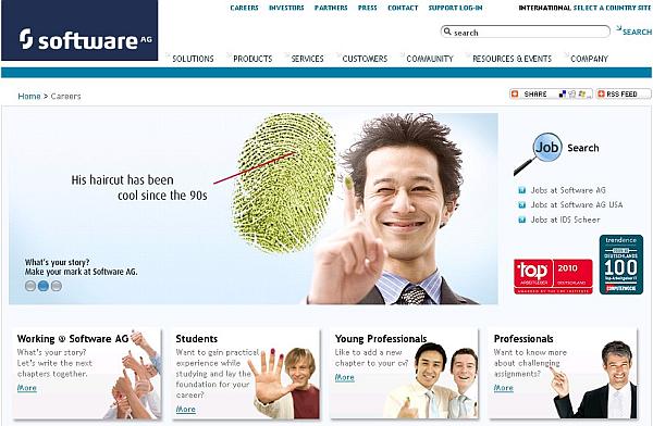 SAP HR Portal by milch & zucker