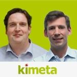 Torsten Hein (links) , Dr. Erik Spickschen, Kimeta