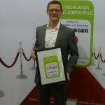"""Arne Lorenzen: Hotelcareer ist Sieger im Qualitätswettbewerb """"Deutschlands beste Jobbörsen"""" Kategorie Spezialjobbörsen 2012"""