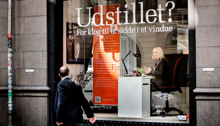 Bewerber-Ausstellung in Dänemark