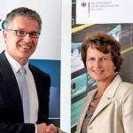 Dr. Birgit Settekorn, Direktorin des BeschA, und Dr. Bernhard Rohleder, Hauptgeschäftsführer des Bitkom (Foto: Bitkom)