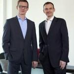 Arne Lorenzen und Manuel Konen