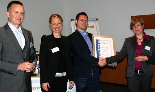 vistao gewinnt den 2. Platz für interview suite Eignungsdiagnostik