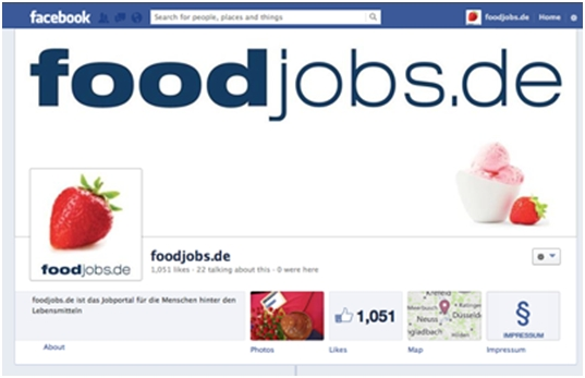 foodjobs.de bei Facebook