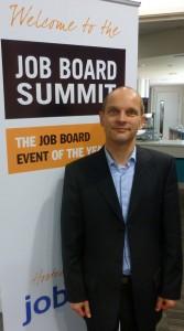 Elmar Enders, Account Manager, jobg8 at Job Board Summit Europe