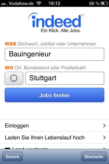 Mobile Jobsuche – Indeed ist beliebteste Job App in Deutschland ...