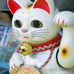 Manekinoko: Die Winkekatze als Glücksbringer