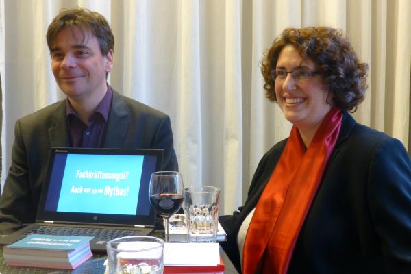 Recruiting After Work mit Ina Ferber und Martin Gaedt