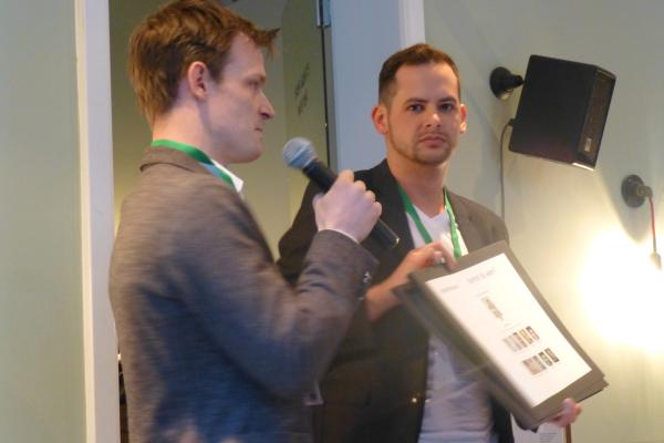 Karista Startup-Gründer: Daniel Schütt (links) und Stefan Peukert (rechts)
