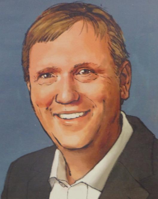 Manfred Baldschus (Zeichnung: Jamiri)