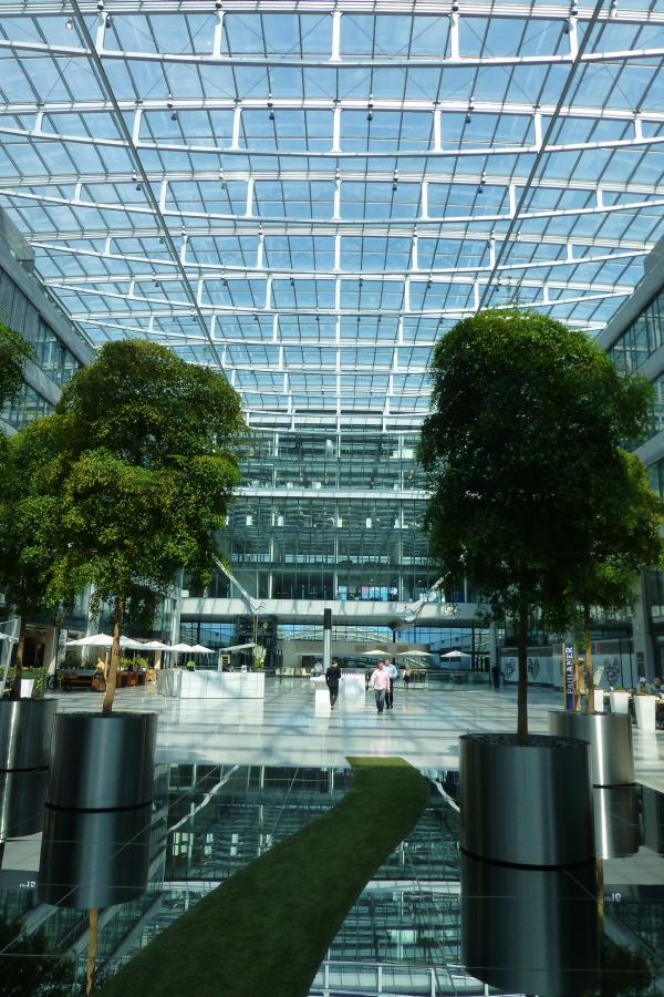 Der Weg in die Zukunft? Squaire Frankfurt-Flughafen