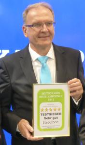 Ralf Baumann / Stepstone als Sieger im Qualitätswettbewerb 2013