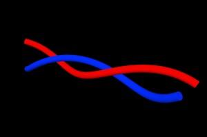 Modell der Double Helix (Foto: Wikipedia)