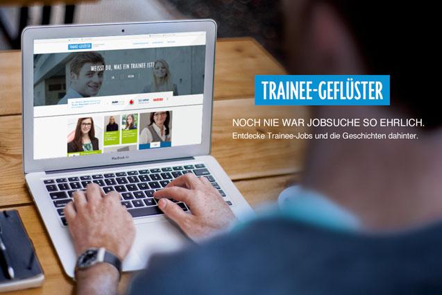 Trainee-Geflüster - neu lanciert