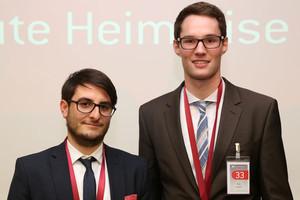 Nicolas Herden und Nils Kowitz gewinnen Best Student Challenge 2015