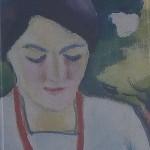 August Macke: Frau auif Balkon