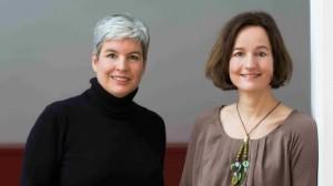 Susanne Garsoffky und Britta Sembach (Foto: Gudrun Senger)