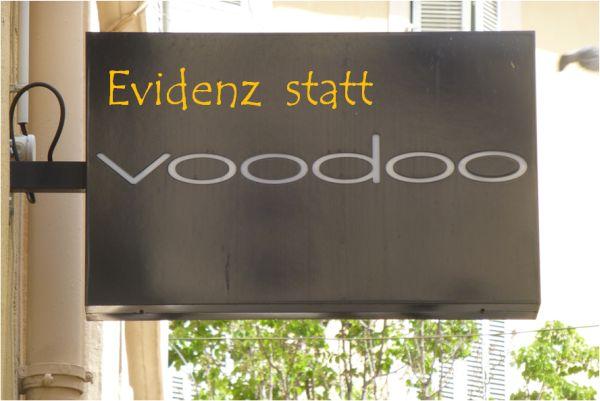 slogan_evidenz_statt_voodoo