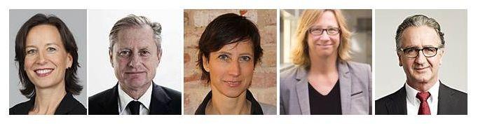 Von links: Alexandra Groß, Stefan Hencke, Birgit Krüger, Christiane Schulz, Uwe Wache