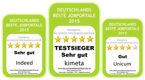Top Jobportale Zielgruppe IT