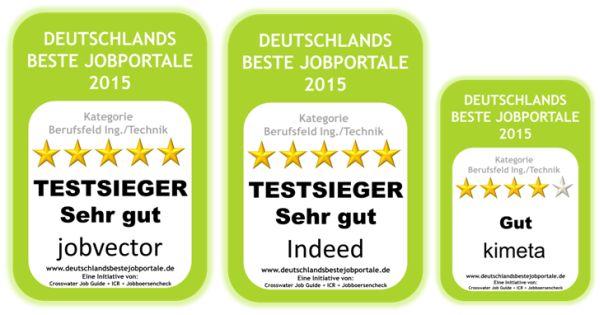 Top Jobportale Zielgruppe Ingenieure / Technik