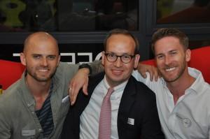 Mark Poreda, Matthias Hofstätter, Martin Poreda. Foto:LeitnerLeitner