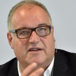 Gerold Linzbach, Vorstandsvorsitzender der Heidelberger Druckmaschinen AG. Foto: Uli Deck/Archiv