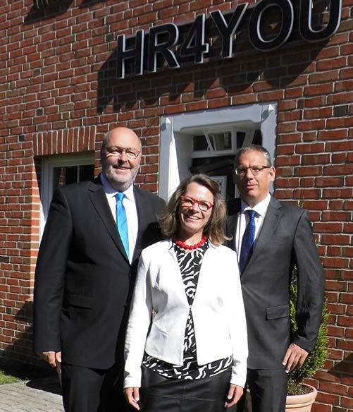 HR4YOU-Vorstand: Axel Rekemeyer, Ute Rekemeyer, Konrad Schlebusch (v.l.n.r.)
