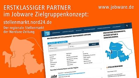 picture_Jobware und Nordsee-Zeitung kooperieren