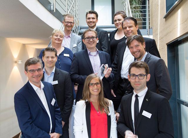 Jury, Laudatoren und Preisträger 2016. Foto: Steffen_ WESTPRESS