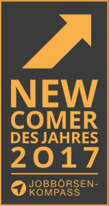 mobileJob Newcomer des Jahres 2017 Jobbörsen-Kompass