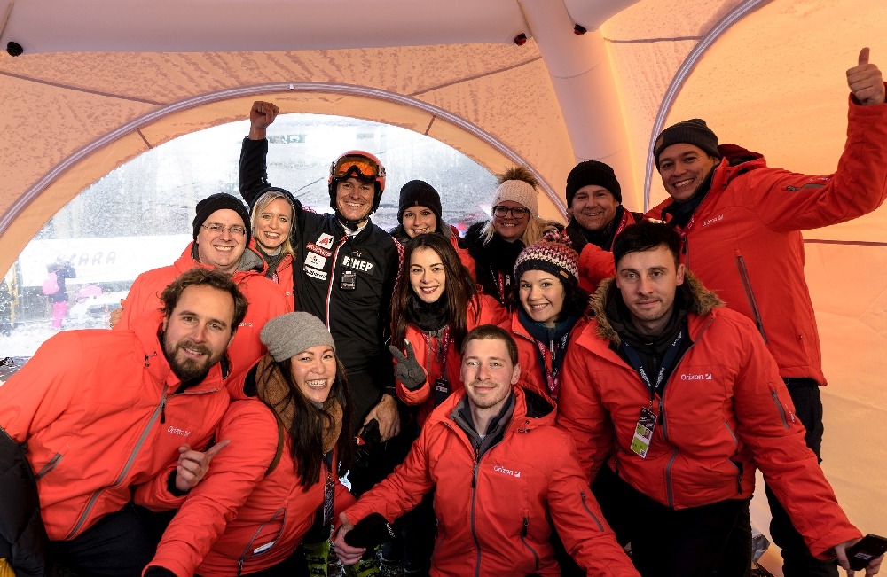 Orizon, Sport-Sponsering, Skisport, Ski-Weltcup Zagreb, Ivica Kostelic, Dieter Traub, Lagardère Sports, Crosswater Job Guide,