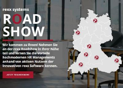 rexx systems, HR-Spezialist, Roadshow, Personalsoftware, Bewerbermanagement, Talent Management, Human Resources, Crosswater Job Guide,