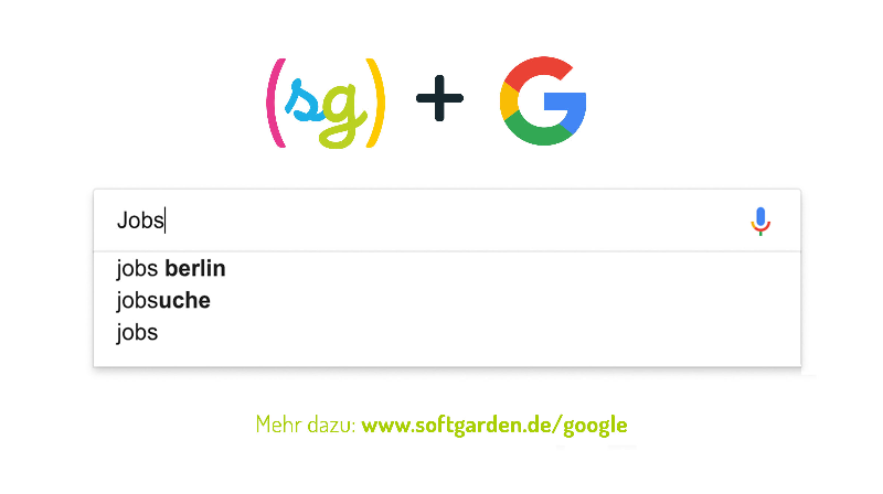softgarden, Google, Jobsuche, Google Ads-Kampagnen, Stellenanzeigen, Employer Branding, First-Mover Vorteile, Keyword-Sets, Crosswater Job Guide,