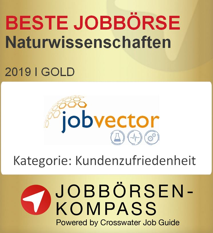 MINT, jobvector, Jobbörsen-Kompass, Gütesiegel, Crosswater Job Guide,